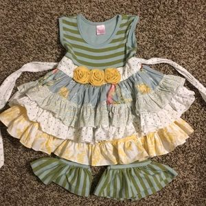 Giggle moon dress set